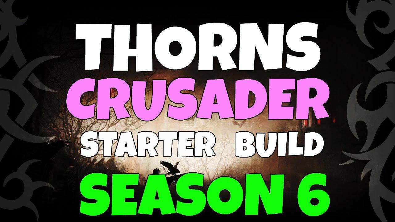Season  Crusader Thorns Build