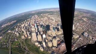Global 1 Helicopter Flight - CTN HELICOPTER - Edmonton, Alberta - GOPRO HERO 2 HD!!!!