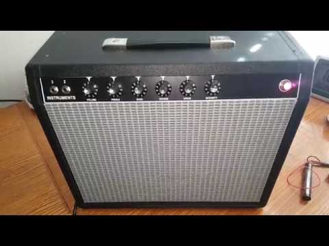Newly assembled '65 Princeton Reverb Clone - Noisy Reverb