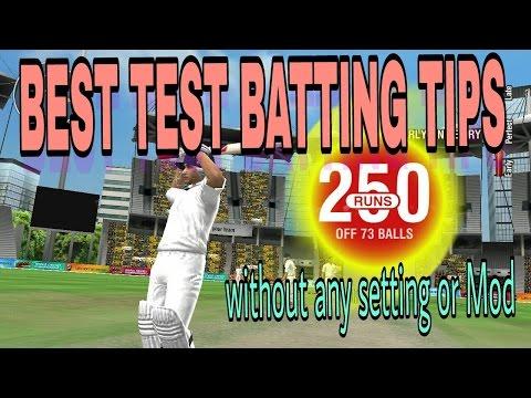 WCC2 Best batting tips . English subtitle