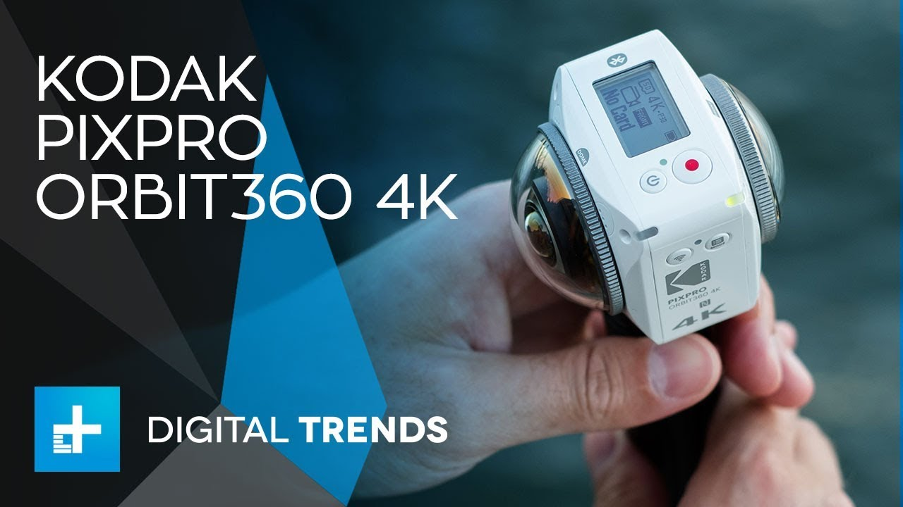 Kodak PIXPRO ORBIT360 4K – Hands On Review