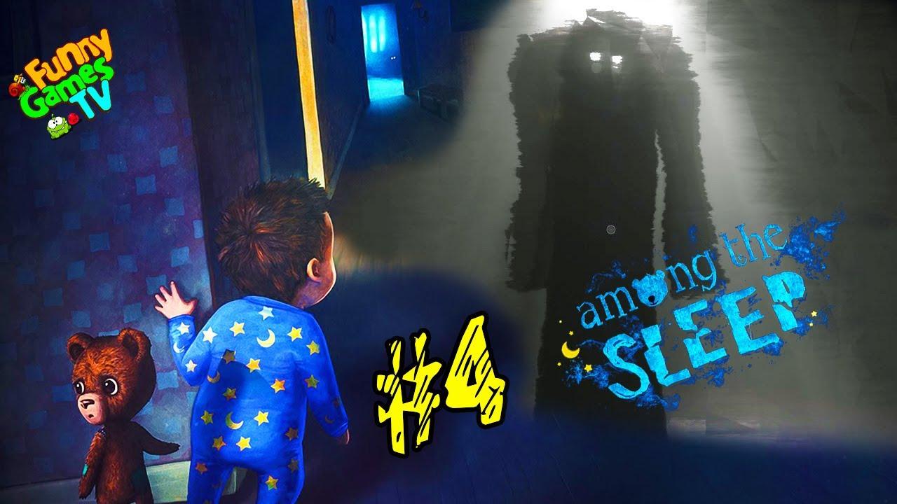 СИМУЛЯТОР МАЛЫША #four детский хоррор в котором мы играем за маленькую девочку Among the many Sleep