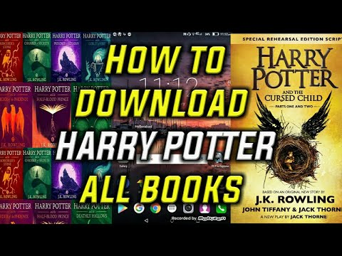 How To Download All Books Of Harry Potter (including Cursed Child)in Android.