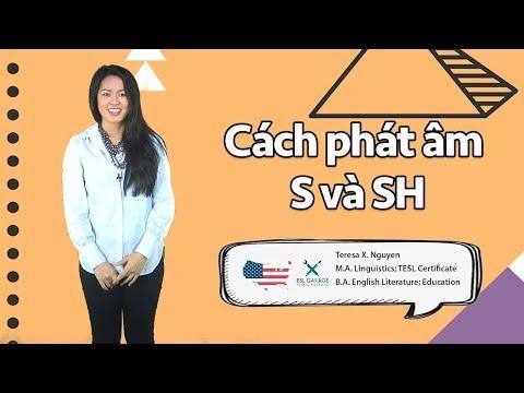 ✔️Phát âm tiếng anh chuẩn như người bản ngữ - Cặp âm S vs SH   Luyện phát âm tiếng Anh chuẩn🇺🇸