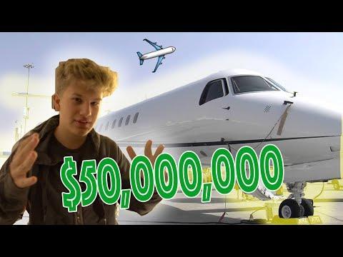 $50 MILLION PRIVATE JET