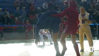 ВЕРТУШКА В ГОЛОВУ / НОКАУТ / Чемпионат России по боевому самбо 2017