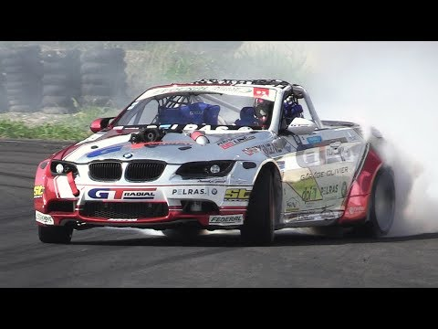 Supercharged LSX 376 V8 BMW M3 E93 - RAW Sound & Drifting
