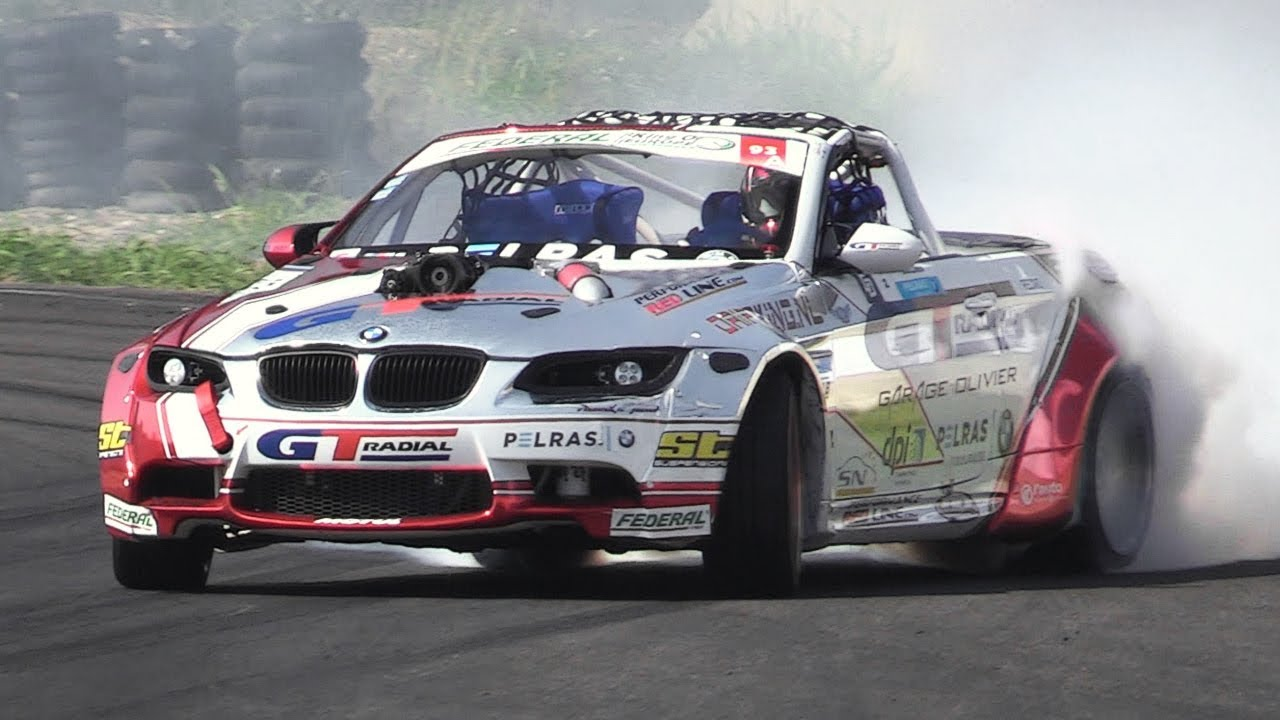 Supercharged LSX 376 V8 BMW M3 E93 - RAW Sound & Drifting