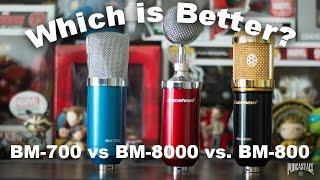 BM-700 vs. BM-800 vs. BM-8000 Comparison (Versus Series)