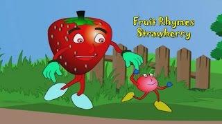 strawberry rhyme fruit rhymes for children nursery rhymes for kids most popular rhymes hd