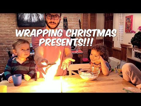 HOW TO WRAP CHRISTMAS PRESENTS - CHRISTMAS SURPRISE!!!