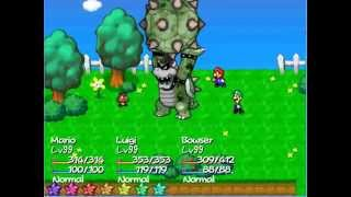Super Mario RPG: The Starlite Worlds - Bowser's Attacks