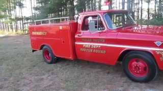 1966 GMC RESCUE SQUAD FIRE TRUCK FOR SALE