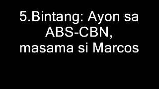 ank administrasyong ferdinand marcos sr boycott bias abs cbn