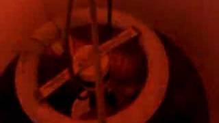 Old 22 Watt Circline Preheat Screw In Adapter In Table Lamp