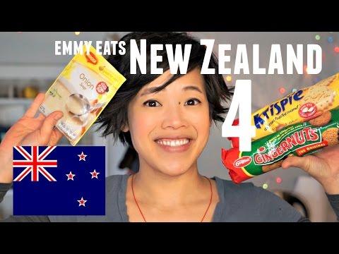 Emmy Eats New Zealand 4 | Kiwi Dip| an American tasting Kiwi treats