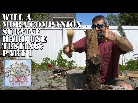 Part 1: Will A Mora Companion Survive Hard Use Testing?