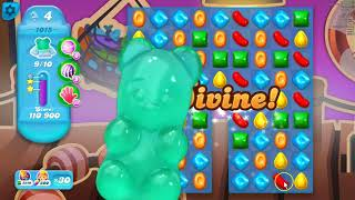 Candy Crush Soda Saga Level 1015, played by Blogging Witch Peetra.