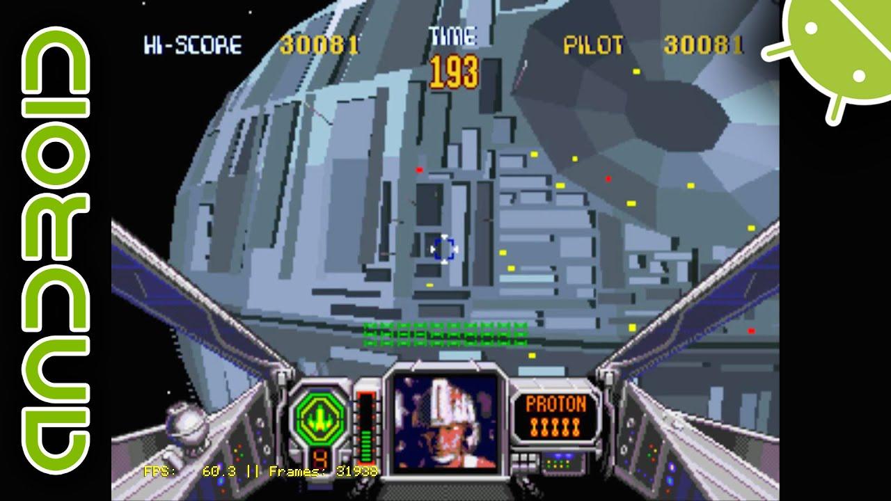 RARE Atari Star Wars Cockpit Sitdown Arcade Machine - YouTube