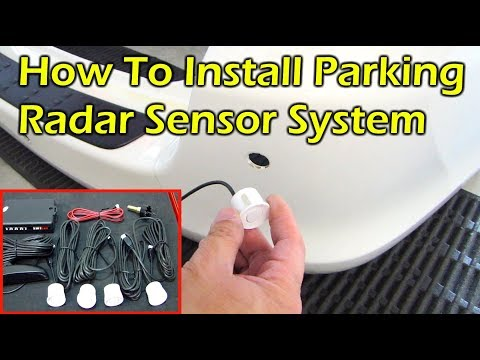 How To Install Parking Radar Sensor System