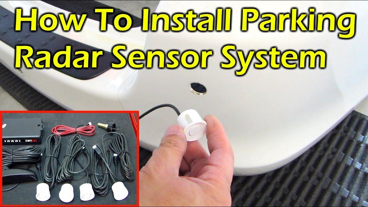 How To Install Parking Radar Sensor System Youtube 2008 Mazda Cx 9 Grand Touring Tire Pressure Monitoring Tpms Wiring Diagram