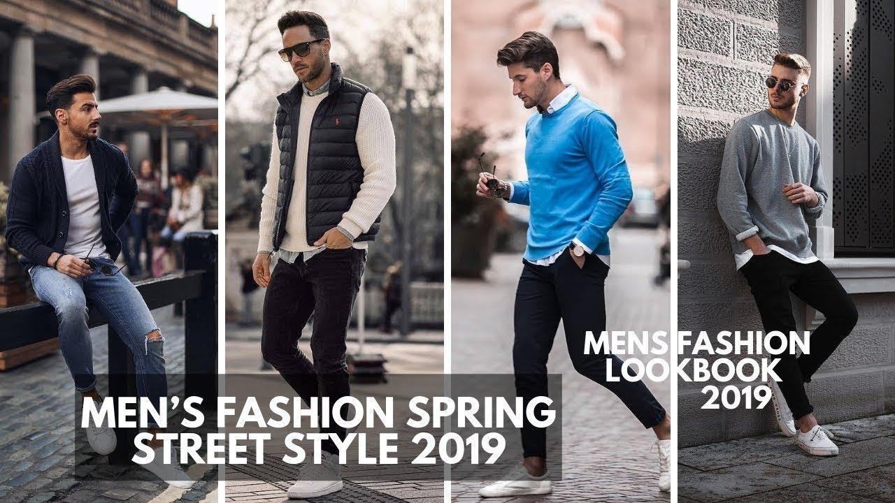 Men S Casual Spring Streetwear Style Inspiration Lookbook 2019