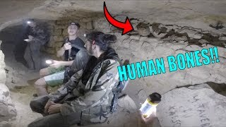 WE FOUND BONES!! Exploring Paris Catacombs for 17 hours..