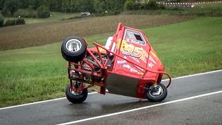 CRAZY Ape Proto 95 Honda 600cc Engine | Loris Rosati | Drifting & Sideways