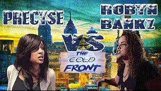KLBL - Rap Battle - Precyse vs Robyn Bankz