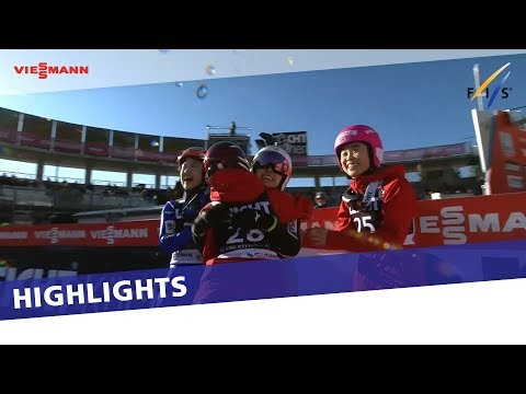 Sara Takanashi makes history with long-awaited win in Oberstdorf | Highlights