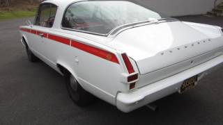 ** SUPER CLEAN AND SOLID !! ** 1966 PLYMOUTH BARRACUDA COUPE **  SOLD !!