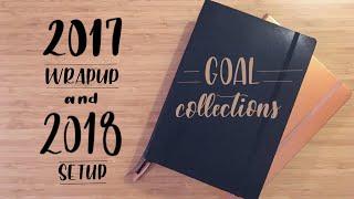 Bullet Journal Collections | Goals | 2017 Wrap Up & 2018 Progress