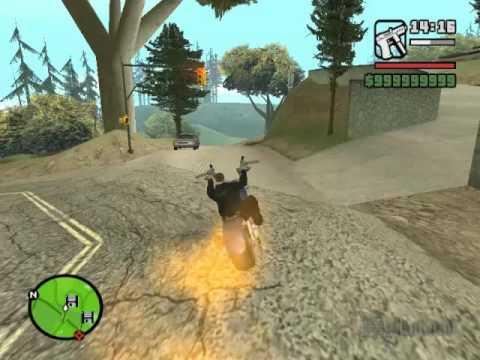 GTA Gta San Andreas Como Hacer La Moto Del Vengador Fantasma (Sin Mods)