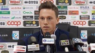 Verso Catania-Catanzaro: Fischnaller in conferenza stampa