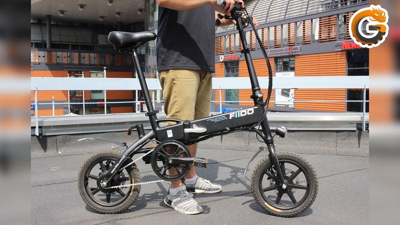 Fiido D1 Hands On Faltbares Elektrofahrrad Aus China E Bike