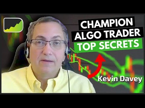 """""""Confessions Of A Champion Algo Trader"""" - Kevin Davey 