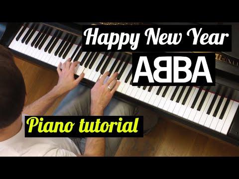 Evgeny, how to play?  ABBA  Happy New Year  Tutorial  Evgeny Alexeev