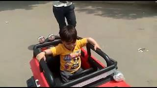 CUTE BABY boy driving car || baby driving first time  Kids Toy Car || IVT