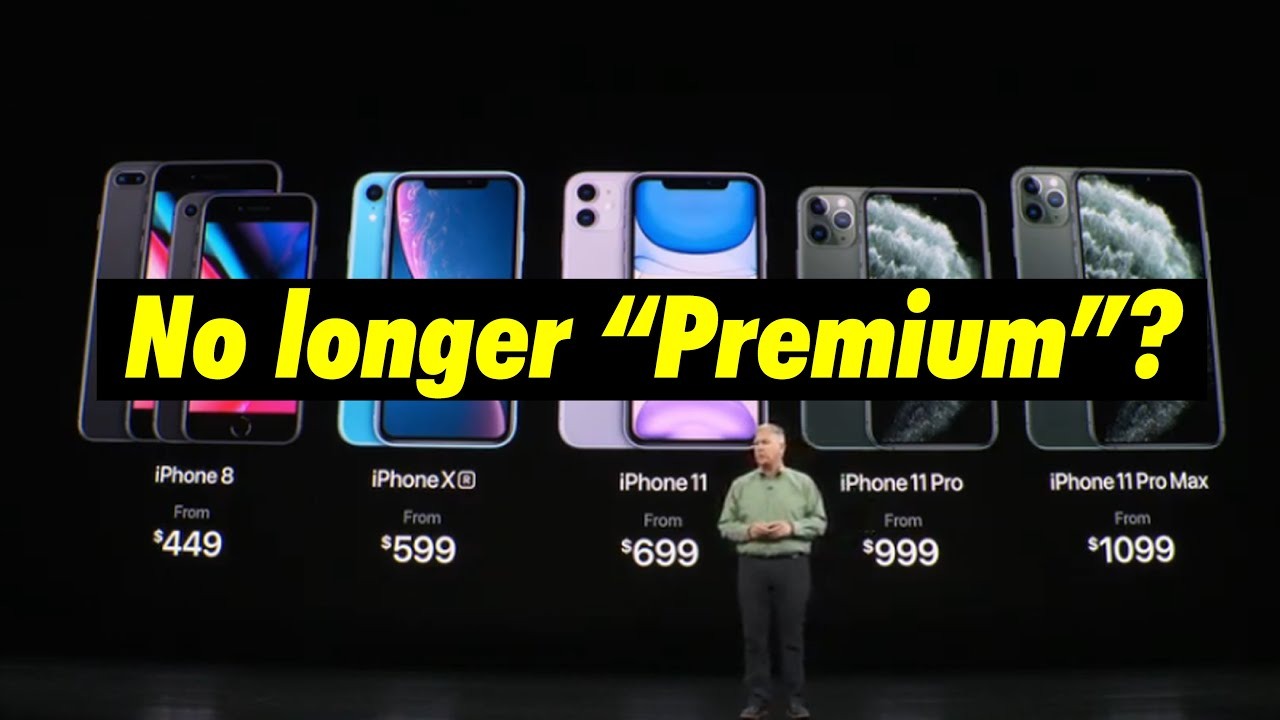 "iPhone 11, is Apple giving up its ""Premium"" brand?"