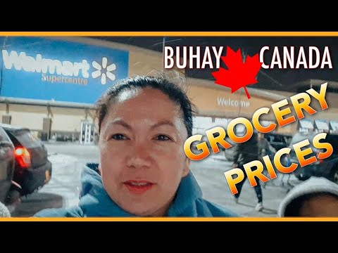 Cost  Of  Living In  Canada|Walmart Shopping