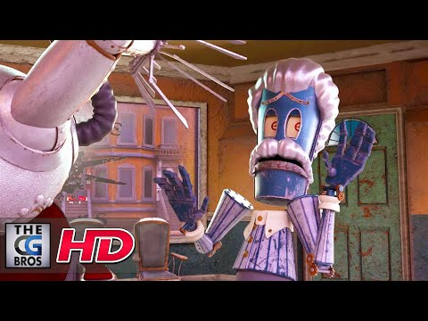 "CGI 3D Animated Short: ""Shears n' Gears"" - by Nicholas Culleton 