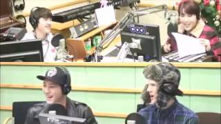 [RUSSUB] 140110 EXO D.O Chanyeol Sehun SPEED QUIZ with ANSWERS
