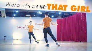Nhảy That Girl - Hướng dẫn nhảy chậm từng động tác | Dancing with Minhx