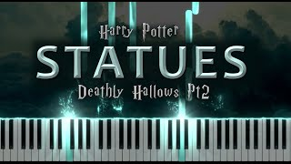 Statues: Harry Potter and the Deathly Hallows Part 2 (Easy Piano Tutorial)