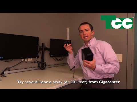 TCC Intro and Setup of Calix 804 Mesh Wi-Fi Extender
