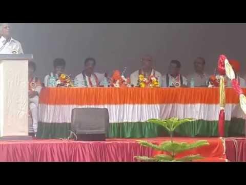 Independence Day Speech by G. R. Khairnar at NRI Complex