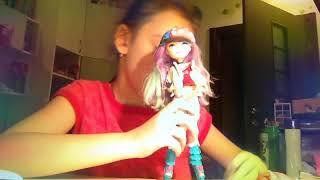 Мастер класс как сделать кепку для куклы из легкого пластилина!