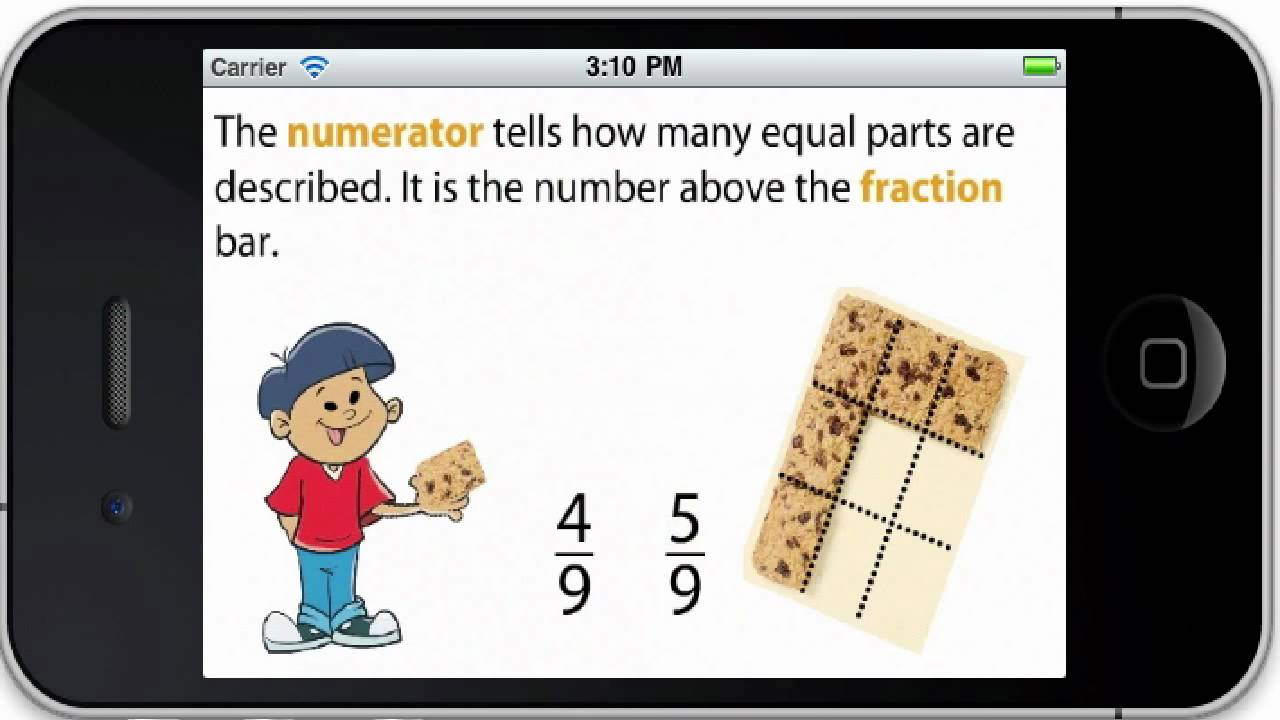 small resolution of enVisionMATH: Understanding Fractions - YouTube