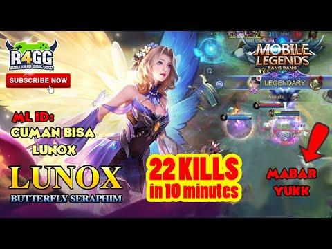 Lunox Butterfly Seraphim Gameplay - YouTube