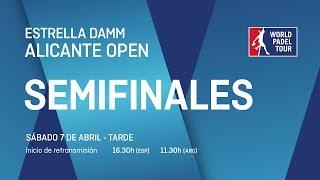 Semifinales - Tarde - Estrella Damm Alicante Open 2018 - World Padel Tour